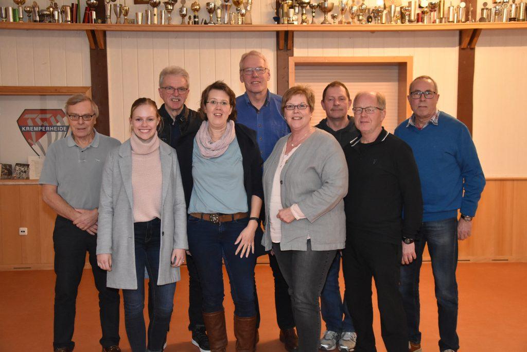 Der Vorstand 2019 des KLV Steinburgs